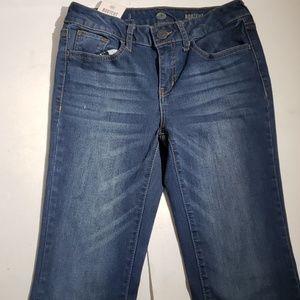 SO Women's Dark Blue Bootcut Jeans
